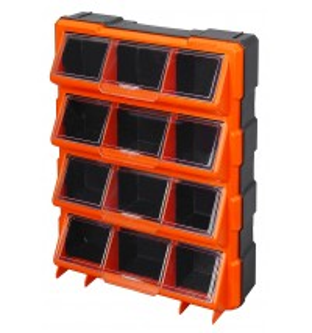 12 Bin Flip Lid Cabinet - 320648