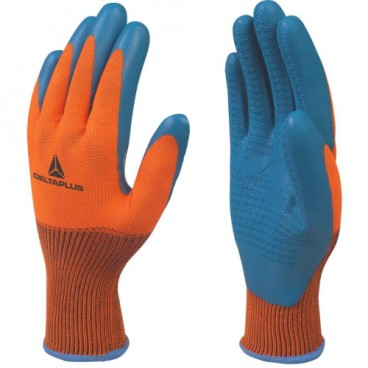Safety Gloves Latex Coated
