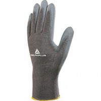 POLYESTER KNITTED GLOVE / PU PALM